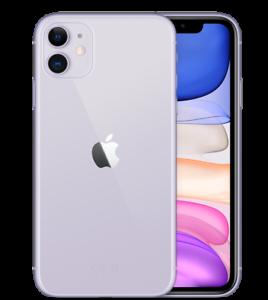 Apple iPhone 11 64Gb Violet parfait état Reconditionné Utilisé A.A443