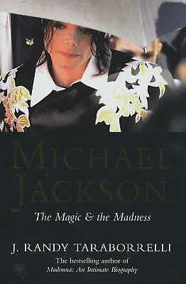 """AS NEW"" Taraborrelli, J. Randy, Michael Jackson: The Magic and the Madness, Boo"