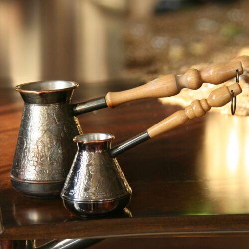 ARMENO TURCO CAFFETTIERA Maker Cezve Ibrik jezve Turka 14 OZ 400 ML