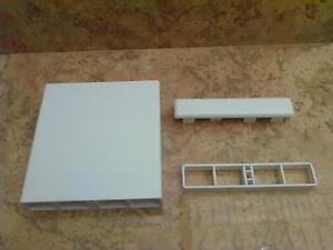 Balkonbretter kunststoff weiß