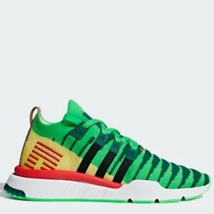 new concept d8073 403f7 Image is loading Adidas-x-Dragon-Ball-Z-DBZ-EQT-Support-