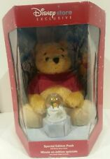 Disney Store Exclusive *Special Edition Pooh With Bonus Snow Globe* New In Box