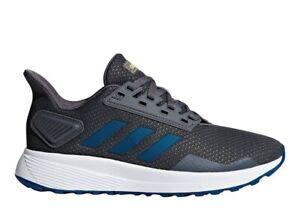 Dettagli su Adidas DURAMO 9K G27629 Grigio Scarpe Donna Bambini Sportive Running