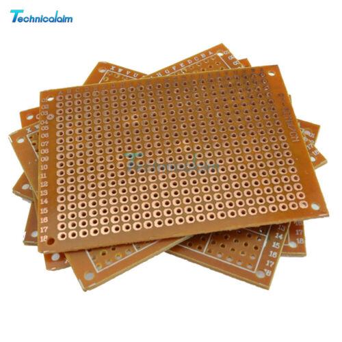 10PCS DIY 5x7cm Prototype Paper PCB Universal Experiment Matrix Circuit Board
