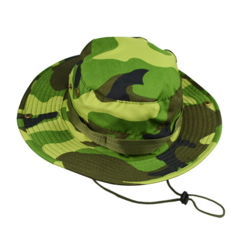 Seau Chapeau Chapeaux Large Bord Pêche Nouveau Camouflage Cap Outdoor CACHOU militaire chasse