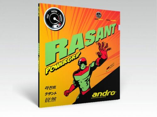 Sale Andro Rasant Powergrip Table Tennis Rubber