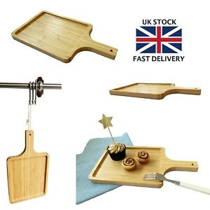 Wooden Serving Board Cheese Board Serving Platter Burger Board Small Tray Handle