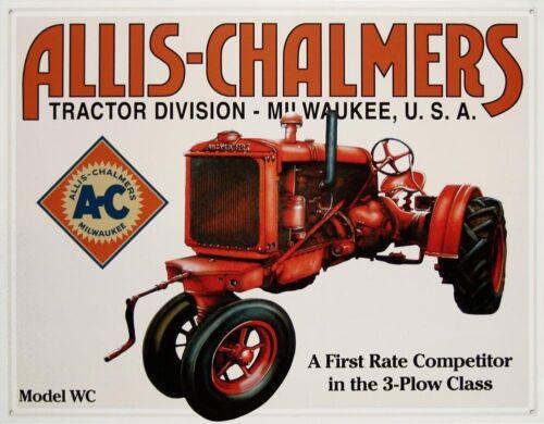 "Allis-Chalmers Model WC 12/"" x 16/"" Metal Sign FAST USA SHIPPER"
