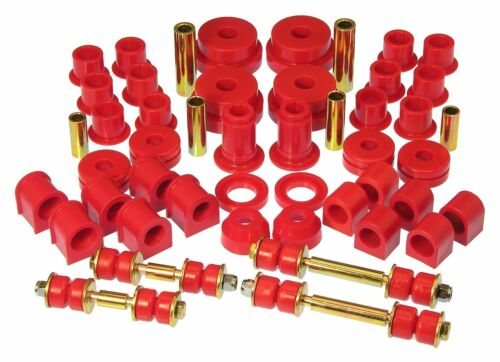 RED Prothane Total Suspension Bushings Inserts Kit For Nissan 300ZX 84-89