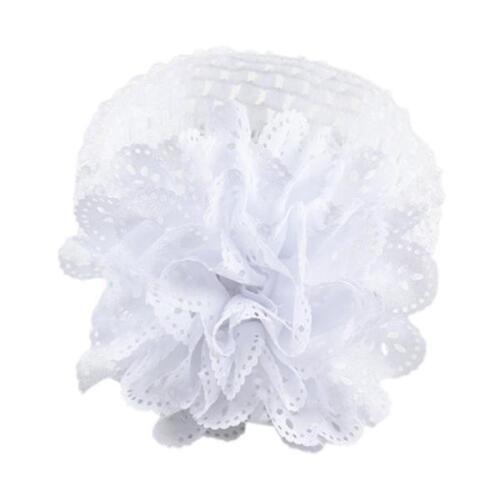 Baby Kids Girls Lace Flower Hairband Headband Dress Up Head band Baby FlowerBand