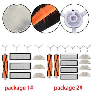 Für XIAOMI MIJIA 1C STYTJ01ZHM Seite Rollenbürste Filter Elements Ersatzteile