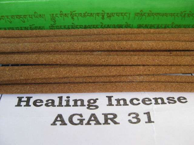 agar 31 medicinal ~ HEALING INCENSE ~ Tibetan Green Box