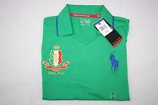 Ralph Lauren Men's Polo Sport Italia Polo Shirt Size L Gift for Him NWT