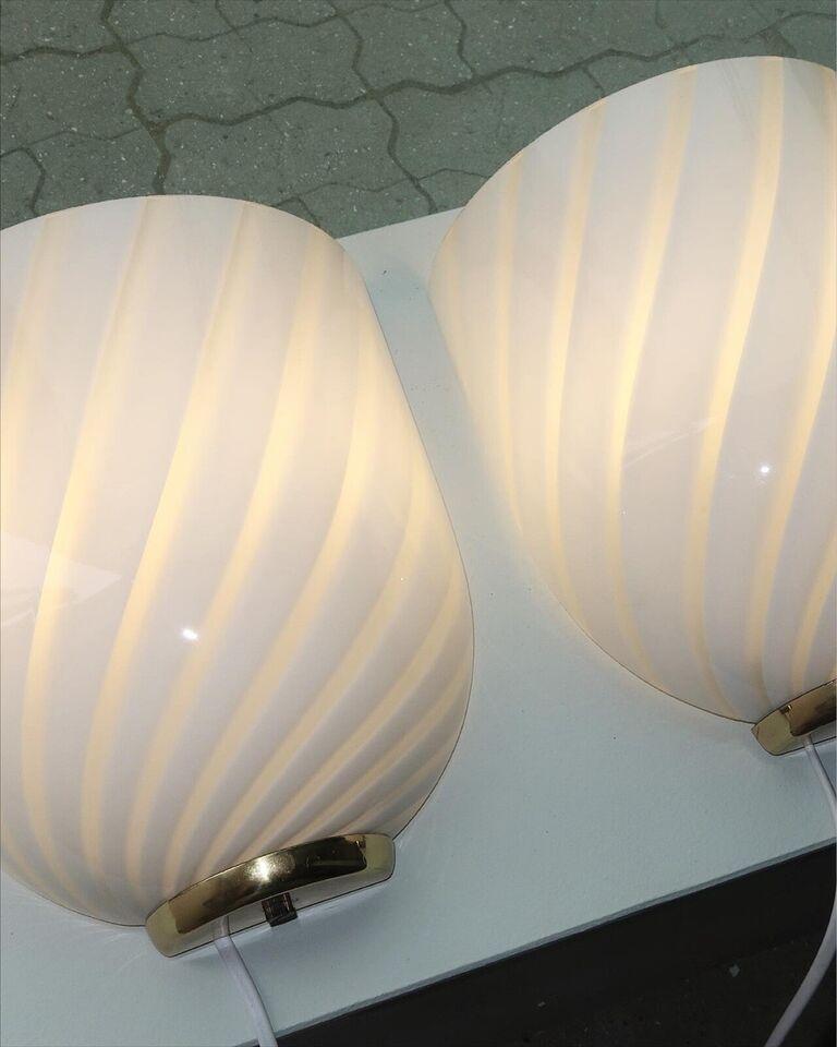 Væglampe, Murano