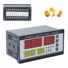 Xm 18 Automatic Incubator Controller Egg Hatcher Temperature Humidity Black 110v