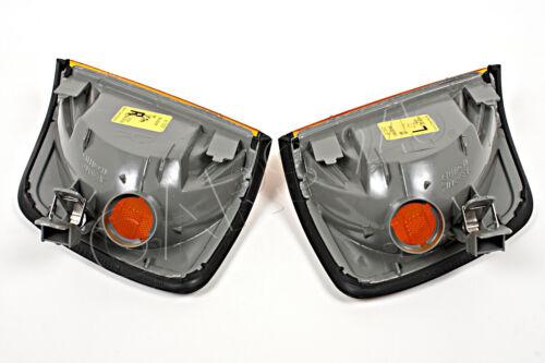 Gelb Blinker Blinkleuchte Paar OEM AL für Mercedes W124 USA Typ 85-1995