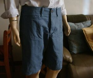 BNWT-Lived-in-flat-front-GAP-shorts-W-30-for-Men
