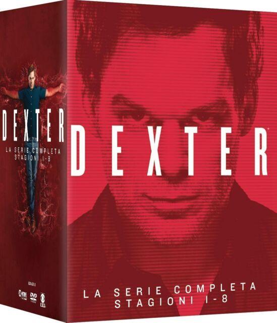 Dexter - Stagione 01-08 (35 DVD) - ITALIANO ORIGINALE SIGILLATO -