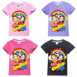 T Shirt Maglietta Maglia Me Bambino Contro Te Bambina Con o Senza Nome Youtubers