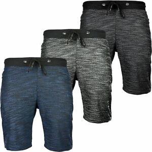 Mens-Summer-Casual-Fleece-Shorts-Zip-Pockets-Sweat-Gym-Jogging-Running-Pants