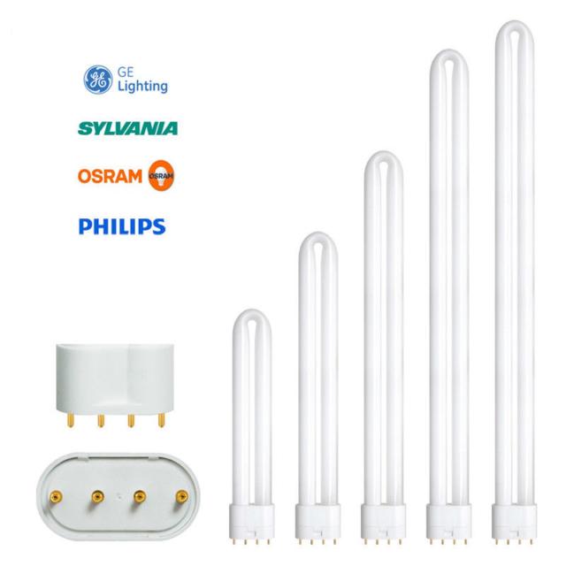 Philips/GE/Osram/Sylvania PL-L 4PIN 18w 24w 34w 40w 55w 80w Dulux/Biax/Lynx