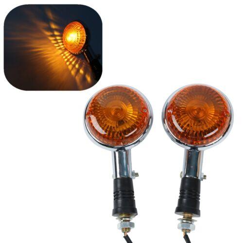 Turn Signal Indicator Amber Light For Yamaha Virago XV1100 1985-1999
