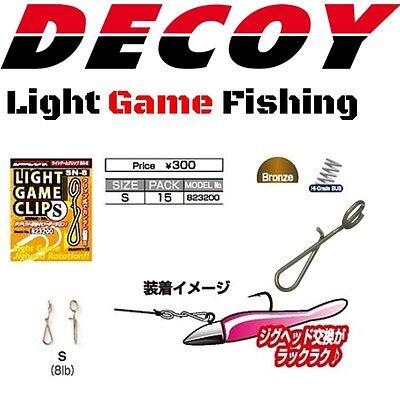 DECOY LIGHT GAME FISHING CARABINER CLIP SN-8