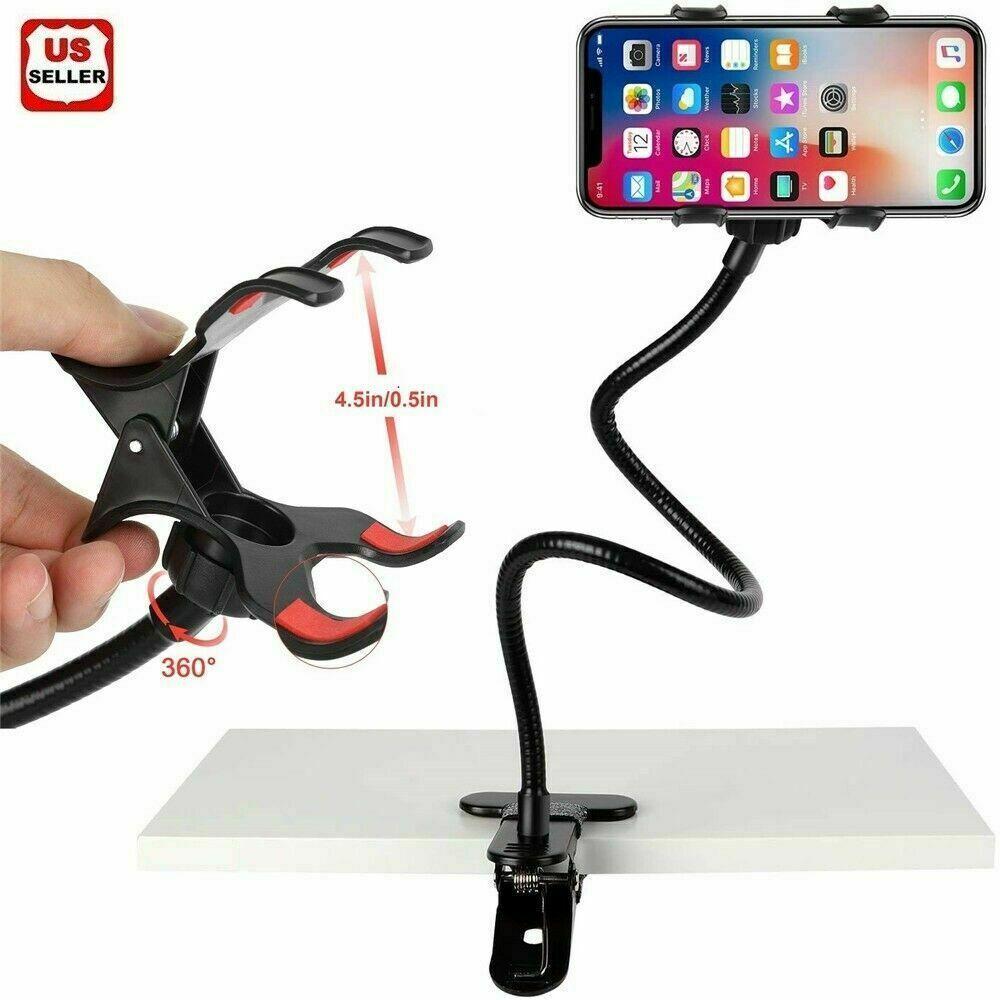 Flexible Holder Hanging Neck Lazy Bracket 360° Smartphone Holder Stand BSG
