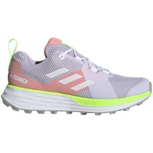 ADIDAS-Terrex-Two-Trail-Running-Shoes-EH1844-Womens-Purple-White-Pink-Green