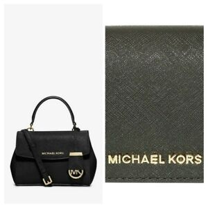 Details about MICHAEL KORS Ava Extra Small Saffiano Leather Crossbody Bag