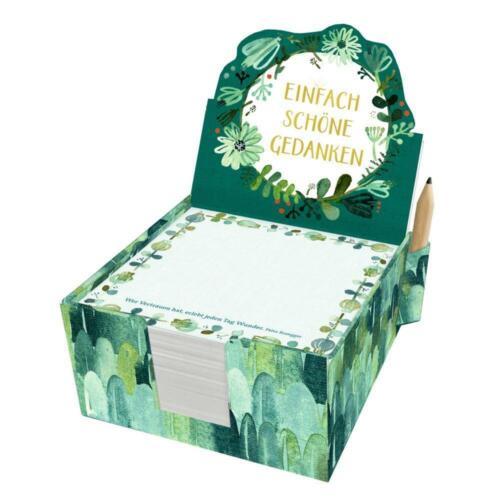 All about green Zettelkästchen Einfach schöne Gedanken