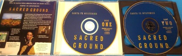 Santa Fe Mysteries: Sacred Ground (Win/Mac) Case, Art, Discs     #15443