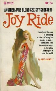 Bee-Line-Book-194-Joy-Ride-by-Inge-Carnell-James-Blond-Vintage-Sleaze-Paperback