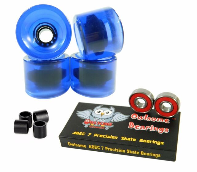 Blank Pro 60mm x 44mm 82a Cruiser Skateboard Wheels Purple
