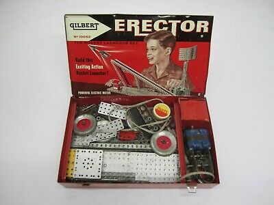 VINTAGE TOY 1950S GILBERT ERECTOR SET POWER PLANT FERRIS