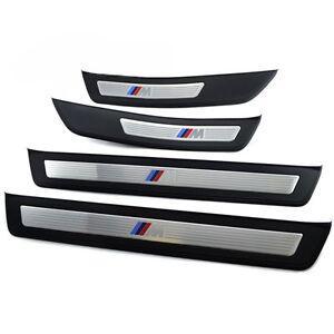 Nuevo-original-BMW-serie-5-F10-F11-M-Sport-Puerta-Umbral-Set-Completo-Retrofit-entrada-de-puerta