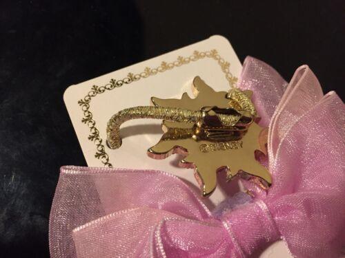 NEW Disney Store Japan Tangled Rapunzel Golden Sun Ribbon Hair Tie