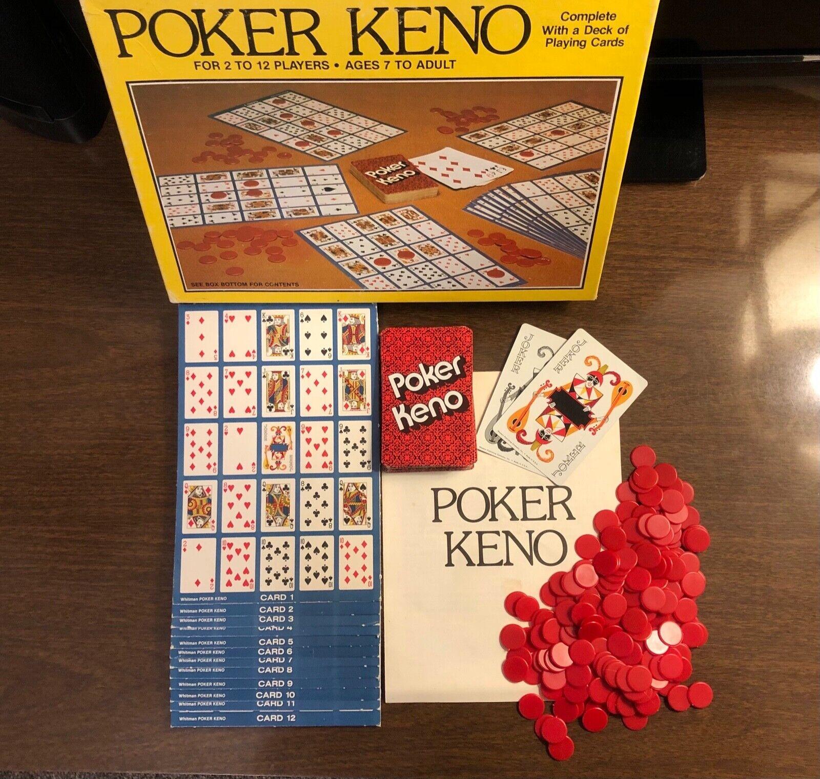 Keno Card Game