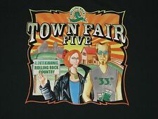 TOWN FAIR FIVE 2004 Concert 3 DAYS GRACE Sevendust Finch t shirt Rock Fits SM/M