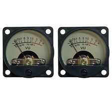 2pcs Analog Vu Meter Panel Kit Db Backlit Recording Audio Level Amp Cq 39w