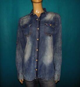 chemise-en-jean-DIESEL-Taille-XL-indiquee-mais-40-EXCELLENT-ETAT