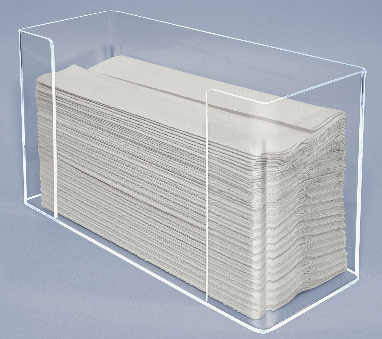 Paper Towel Napkin Dispenser Holder Display Multi fold Lot of 6 Lot of 6