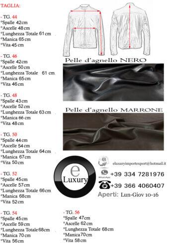 ★Giacca Giubbotto Uomo in di PELLE 100/%★ Men Leather Jacket Veste Homme Cuir 8z1