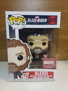 Black Widow Alexei #620 Red Guardian Marvel Collectors Corps Funko Pop!