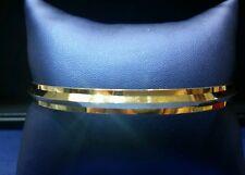 Gold Bangle/Bracelet in Solid 22k (Punjabi/Sikhi Kada)