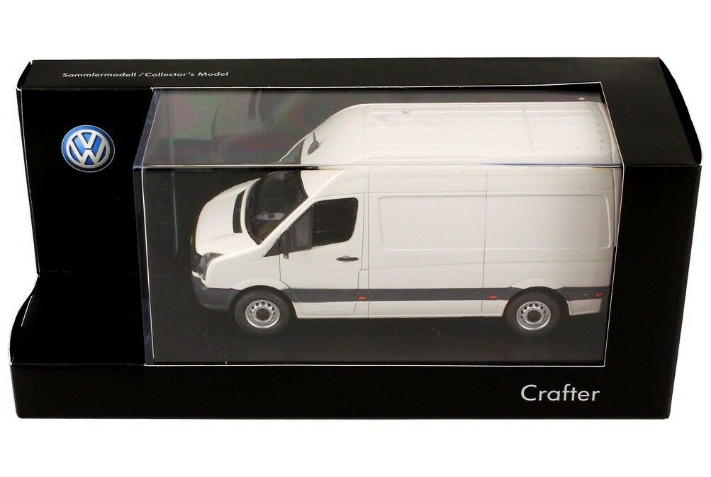 VW CRAFTER 2E TDI FACELIFT CANDY WHITE 1 43 PREMIUM CLASSIXXS (DEALER MODEL)