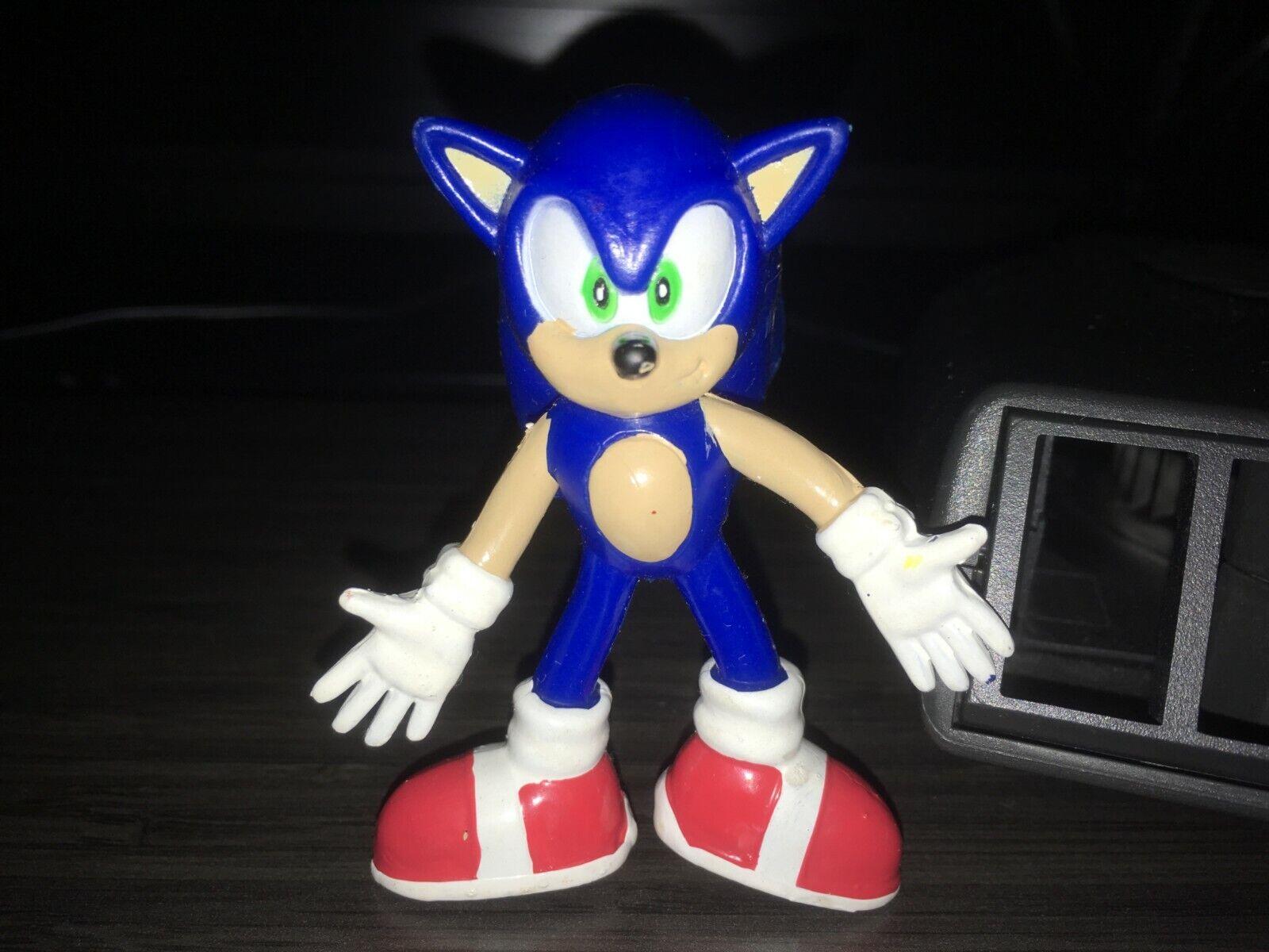 Rubber Bendable Sonic Adventure Sonic Sega 2000 Rare Figure
