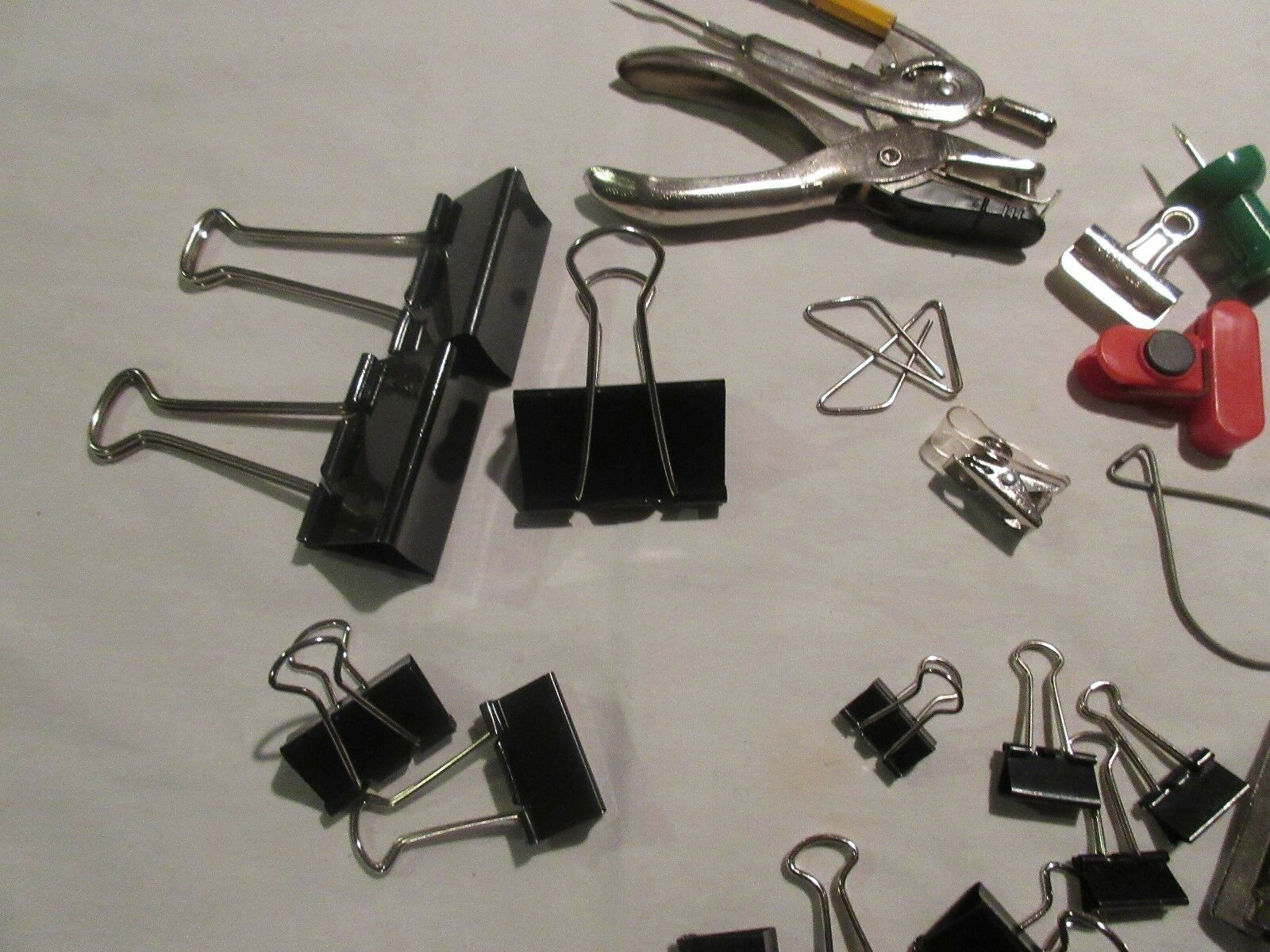 Office Supplies , Hole Punch , Bag of Supplies