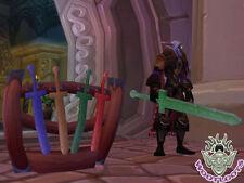Foam Sword Rack Loot Card World of Warcraft WoW TCG Nerf Duel Rare Code Toy Box