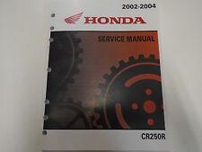 2002 2003 2004 Honda CR250R CR 250 R Service Repair Shop Manual FACTORY NEW
